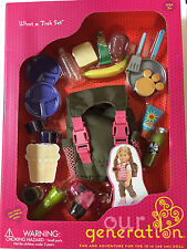 "Our Generation WHAT A TREK With Backpack 18"" Fits American Girl Doll"