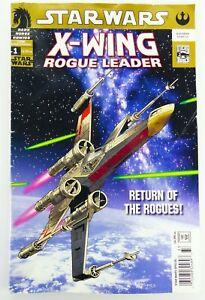 Dark Horse STAR WARS X-WING ROGUE LEADER (2005)#1 New Movie Newsstand Variant VG