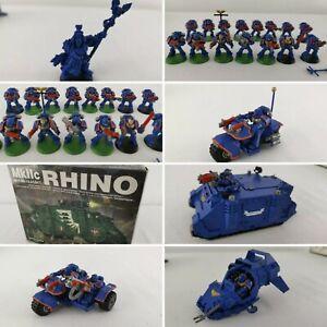 Warhammer 40k Space Marine Rhino MkIIc + Landspeeder + Bike + Trike + Scriptor