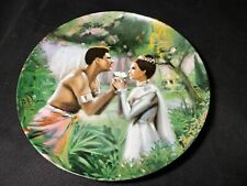 Knowles THE KING & I  Series WE KISS In A SHADOW Collectors Plate 1985 -Chambers