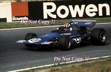Francois Cevert Tyrell March 701 German Grand Prix 1970 Photograph