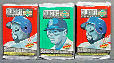 1994 UPPER DECK COLLECTORS CHOICE 3 PACK LOT 12 CARDS EACH,SERIES 1,GRIFFEY, POS