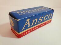 120 Film Ansco Plenachrome Black and White. Expired March 1954. Free Shipping.