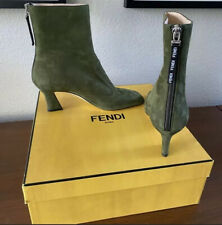 NWT FENDI Suede Ankle Boots FFreedom size 6.5 37