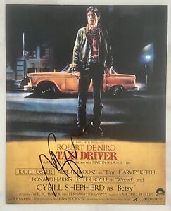 Martin Scorsese  Signed Photo Taxi Driver AFTAL OnlineCOA