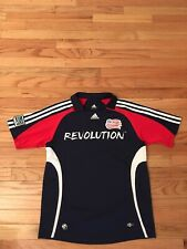 New England Revolution MLS 2008 Adidas Climacool Youth Soccer Jersey Size L