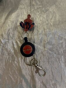 Spiderman Retractable Keychain New Applause
