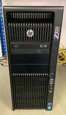 HP Z820 - 2x Xeon 6Core E5-2643 v2 @3.50GHz, 128GB DDR3@1333MHz, 600GB+9TB SAS,
