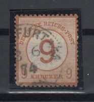 X2217/ GERMANY REICH – MI # 30 USED SIGNED ENGEL – CV 660 $