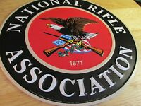 NRA SIGN gun rights Second Amendment TIN Metal Wall HOME Protection 1871 SYMBOL