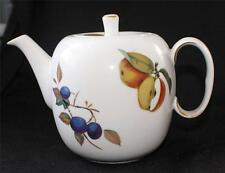 """Vintage ROYAL WORCESTER Fine Porcelain EVESHAM PAttern 6""""h 4 Cup Teapot w Lid"""