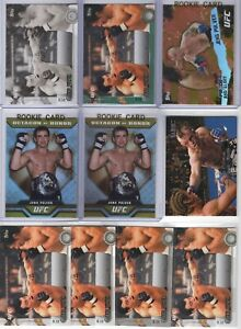 (LOT 10) JENS PULVER  2010-2015 Topps UFC COLLECTION (Rookie RC) MINT+ Pride TUF