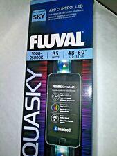 "FLUVAL AQUASKY 48""-60"" BLUETOOTH LED STRIP LIGHT NIB"