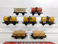 CR511-1# 7x Trix Express H0/DC/3L Güterwagen DEFEKT/Mängel: Shell+2070+20/69 etc