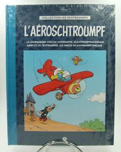 Les Schtroumpfs - N° 19 - L'Aéroschtroumpf - Hachette Collection - NEUF