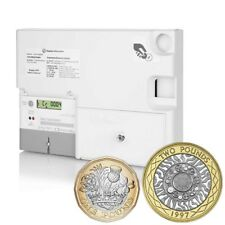 Emlite Electric Digital £1 £2 Sterling Operated Dual Coin Prepayment 100A Meter