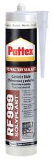 PATTEX RF999 Sigillante refrattario fino a 1500° 300 ml Grigio camini stufe