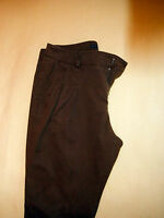 Hose ZARA BAGGY CARGO PANT CHINO BRAUN S 26 JEANS 34 XS 36