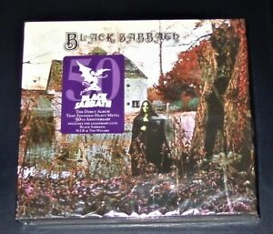 BLACK SABBATH BLACK SABBATH DELUXE EDITION DOPPEL CD IM DIGIPAK  NEU & OVP