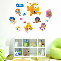 Bubble Guppies Kids Wall Stickers Removable Vinyl Decal Art Decor Cartoon Gift