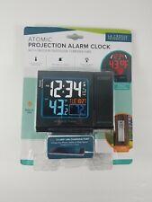 616-146 La Crosse Technology Atomic Projection Alarm Clock with USB Port TX-141