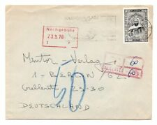 ALGERIA: Cover to Germany 1970, postage due.