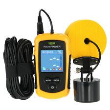 100M Water Depth Fishing Finder Portable Sonar Sensor Fish Finder Echo Sounder