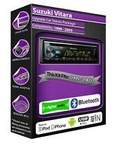 SUZUKI VITARA Radio DAB , Pioneer CD Estéreo Usb Auxiliar Player, Bluetooth Kit
