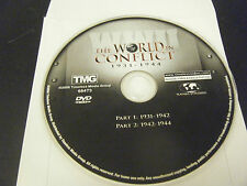 WWII:  The World in Conflict 1931-1944 (2006, DVD) - Disc Only!!!