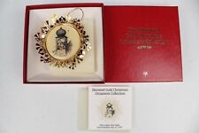 The Hummel Gold Christmas Ornament Collection 'Silent night, Holy night'