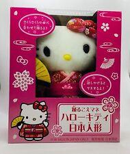 Hello Kitty sanrio Kimono Dancing Talking Plush Doll Limited Japan a333