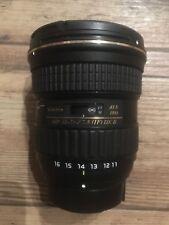 Tokina AT-X PRO 11-16mm F/2.8 DX II Lens