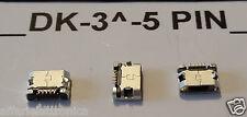 CONNETTORE 5 PIN RICARICA PORTA Micro USB dock CARICA per NGM forward PRIME