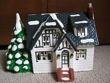 DEPARTMENT 56 ORIGINAL SNOW VILLAGE - MAIN STREET HOUSE 1985 - VERY NICE COND!