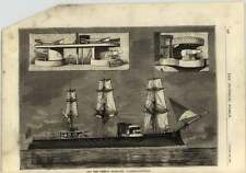 1878 The New French Ironclad L'amiral Duperre