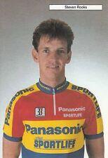 STEVEN ROOKS Cyclisme Ciclismo Cycling Panasonic 90