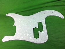 4PLY Pickguard with Pearl White For Fender Precision Bass PB Guitar, 11Holes