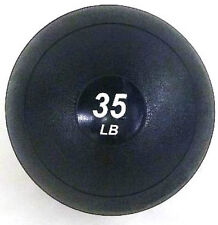 35 LB Crossfit Slammer Ball No-Bounce Slam Weighted Soft Medicine Fitness Ball