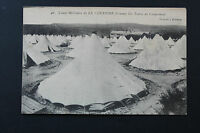 Carte postale ancienne CPA CAMP MILITAIRE DE LA COURTINE-Les Tentes de Campement