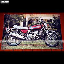 YAMAHA GL 750 (1973) - Poster MOTO #PM800