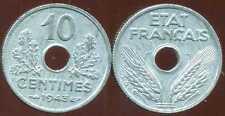 10 centimes 1943 petit module  SUP