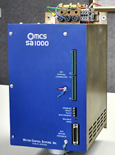 MCS (Motion Control Systems) SA-1000 Servo Drive Amplifier, Config. B1060-D