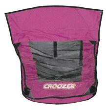 Verdeck 2 in 1 pink für Kinderanhänger Croozer Kid for 1 Modell 2010-2013 NEU