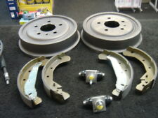 VAUXHALL ZAFIRA DT MK1 99-05  TWO BRAKE DRUMS SHOES 2 CYLINDERS /& 3 BRAKE CABLES