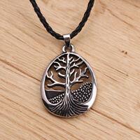 Pendentif Arbre de la Vie Collier Homme Femme Ado Cadeau Tree of Life Necklace