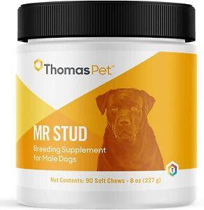 Mr. Stud Dog Supplement 90 Soft Chews Encourages Arousal - Promotes Stamina
