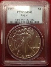 1987 $1 Silver Eagle