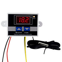 Digital Temperature Controller Thermostat Regulator Sensor with Probe - 110V