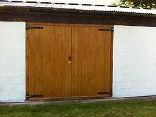 Side Hinged Hung Timber Wooden Garage Doors Gates - BARN DOORS