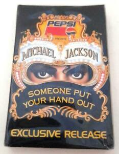 Michael Jackson Pepsi Cassette: Someone Put Your Hand Out  New Sealed Exclusive